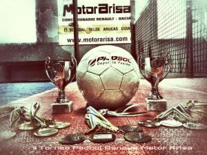 trofeos torneo Motor ARISA
